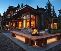 Lahontan Architecture : House 356 Love the single pitch roof line and large windows throughout.