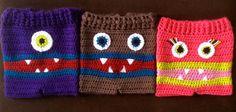 Meme's Monster Pants Kids Crochet Multiple Sizes by NovasMeme