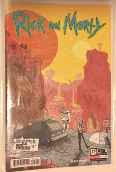 NM Oni Press Comic 2018 Rick and Morty Presents The Vindicators #1 2nd Print
