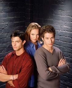 Katherine Heigl, Jason Behr and Brendan Fehr in Roswell