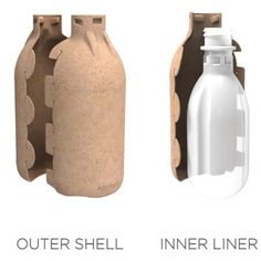 A company called Ecologic Brands has developed a unique two-part bottle that they reckon is more sustainable than standard plastic bottles. Their Eco Bottle consists of an inner liner of plastic, and … Eco Products, Plastic Bottles, Water Bottle, Unique, Pet Plastic Bottles, Plastic Water Bottles, Water Bottles