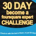30 Day foursquare Challenge – ebook