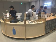 BlueBottle COFFEE @GINZA POP UP STORE