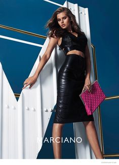 Yara, Rachel + Solveig Star in Guess by Marciano Fall 2014 Ads by Hunter & Gatti Guess Clothing, Fashion Shoot, Only Fashion, World Of Fashion, Runway Fashion, Fashion Models, Editorial Fashion, Fashion Pictures, Pink Leather