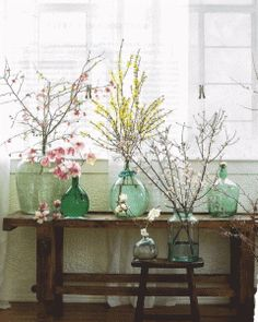 Flower Ideas: Budded Branches | Woman Getting Married