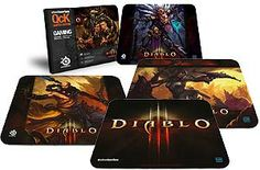 SteelSeries offer SteelSeries QcK Diablo III Gaming Mouse Pad - Witch Doctor Edition. This awesome product currently limited units, you can buy it now for $14.99 $12.69, You save $2.3 New