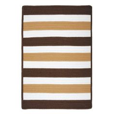 Colonial Mills Portico - Espresso 2'x3' by Colonial Mills. $73.50. Stain Resistant. Reversible. Fade Resistant. 100% Polypropylene. Roll it out and let this rug speak for itself. The simple, yet strong colors welcome poolside parties with hassle-free care! Stain, fade and mildew resistant. Reversible for twice the wear. Made in the USA. Dimensions: 24 x 36 x 0.5 inches