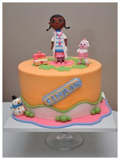 Doc McStuffins Cake - by SpringBloomCakes @ CakesDecor.com - cake decorating website