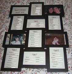 Framed seating arrangment