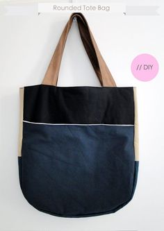 Rounded Tote by Coco Lapine