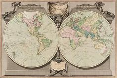 A New map of the world (1800 by W. Palmer) with Captain Cook's discoveries and ships' tracks during the voyage of the Endeavour (1768-71) and the Resolution (1772-75 and 1776-80) and those of the other circumnavigators. In the collection of the State Library of NSW http://library.sl.nsw.gov.au/record=b2067099~S2.