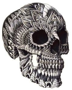 Ornate Skull by BioWorkZ