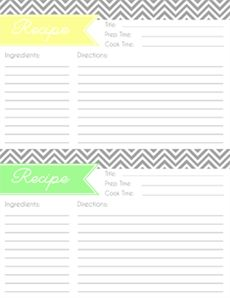 Free Recipe Cards And Cover Inserts For Dollar Store Photo Albums
