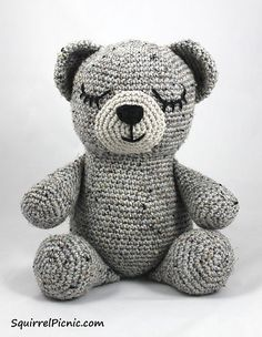 Everyone needs a teddy bear. Here are ten adorable free teddy bear crochet patterns to make as gifts for everyone you know.