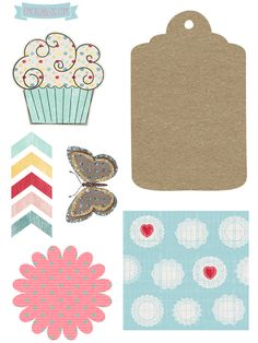 KIT SCRAPBOOK FREE #6 TAG