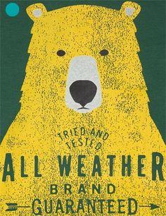 Tee-shirt à manches longues imprimé ours