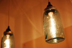 seems like a super simple tutorial on how to make these mason jar lights--also very inexpensive :)