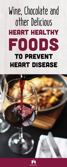 Wine Chocolate and other Delicious Heart Healthy Foods To Prevent Heart Disease: Wine Chocolate and other Delicious Ways To Prevent Heart Disease Heart Healthy Soup, Heart Healthy Recipes, Healthy Foods To Eat, Healthy Tips, Low Sodium Snacks, Low Sodium Recipes, Bone Broth Detox, Heart Disease, Healthy Lifestyle