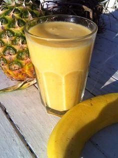 SchwedischHolstein: Smoothie  Ananas - Banane eller Smoothie   Ananas ...
