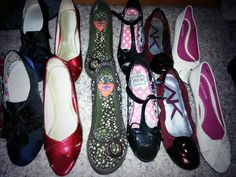 Organize your shoes heel to toe in your closet to see more selections