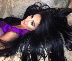 Lilly Ghalichi love all that hair!
