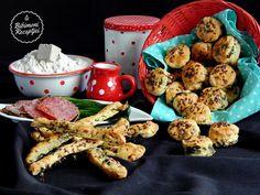 Medvehagymás pogácsák | Bibimoni Receptjei Muffin, Breakfast, Food, Morning Coffee, Essen, Muffins, Meals, Cupcakes, Yemek