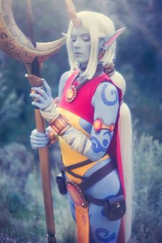 Cosplayer jinglebooboo > Soraka from League of Legends