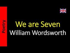 Poetry in English - Sanderlei Silveira: William Wordsworth - We are Seven