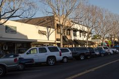 Among the beach cities of San Diego County is Carlsbad Village, which offers a variety of shopping and dining experiences.
