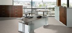 Executive Sit-Stand Desk | Sitting is so passé. Learn why.- Sit-Stand Executive desk