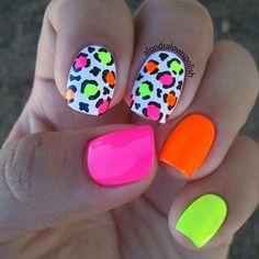 bright summer nails designs 77 Bright Neon Nails to Try This Summer Neon Nail Art, Neon Nails, Bright Nail Art, Bright Nails Neon, Bright Colors, 80s Nails, Shellac Nails, Pretty Nails, Cute Nails