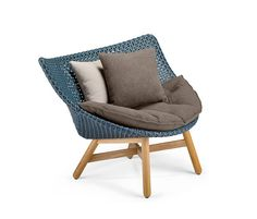 Mbrace Lounge chair by DEDON | Garden armchairs