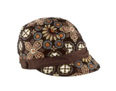 Newsgirl Hat in Canyon, $38 | Vera Bradley