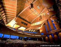 Filene Center in Wolf Trap – Vienna, Virginia