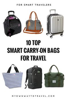 The is one of the important accessories to carry essential items during any trip around. For every traveler and tourist it is must keep one smart carry-on bag to make the trip easy comfort and hassle-free. There are many categories of Check out Best Travel Bags, Travel Bags For Women, Packing List For Travel, Travel Gifts, Packing Tips, Budget Travel, Best Travel Backpack, Carry On Packing, Travel Wear