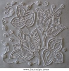 JMD Designs -JMDWW6 Endurance - Whitework Needlework, Quilting and Applique