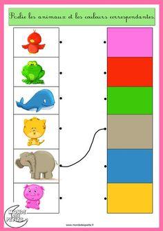 couleurs et animaux