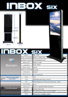 INBOX six , borne tactile interactive