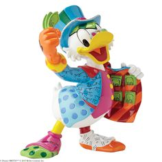 4051800 Uncle Scrooge- Introducing a new collection to Disney by Britto featuring all your favourite characters in a slightly smaller size and lower price but with even bigger smiles and personality than ever before #britto #disney #collectable