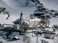 Lesachtal-Maria Luggau Kirchen, Snow