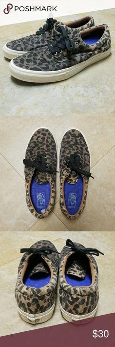 Vans Leopard Print Eras California Edition rare ombre dyed Vans Shoes Sneakers