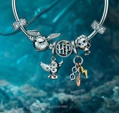 Bijoux Harry Potter, Cadeau Harry Potter, Pandora Harry Potter, Harry Potter Charms, Harry Potter Wizard, Pandora Bracelet Charms, Pandora Jewelry, Harry Pitter, Pandora Charms