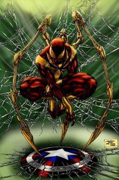 Analizamos las posibilidades de que Spiderman luzca su Iron Spider en 'Capitán América 3', película en la que este personaje apenas tendrá influencia.