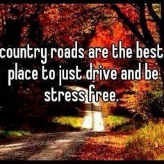 Take the back roads :)