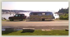 Weekly Airstream rentals from VintageMaineVacations.com Southport, Maine Airstream Rental, York Beach, Southport, Recreational Vehicles, Maine, This Is Us, Island, Motorhome Hire, Camper Van