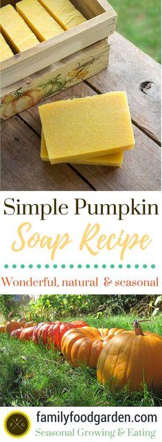 Simple Pumpkin Soap Recipe