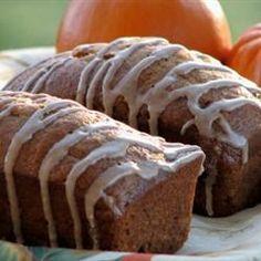 The PERFECT pumpkin bread recipe.