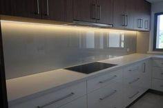 Image result for glass splashback colours