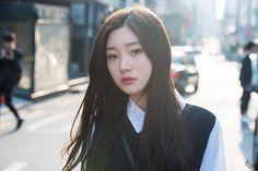 South Korean Girls, Korean Girl Groups, Family Genes, Jung Chaeyeon, Future Photos, Ioi, Korean Actresses, Korean Singer, Asian Woman
