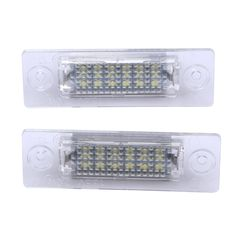 9.20$  Watch now - http://ali6fm.shopchina.info/go.php?t=32754750026 -  2x License Number Plate Light Lamp 18-LED For VW Caddy Transporter Passat Car License Plate Lights ME3L 9.20$ #shopstyle
